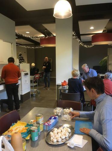 Kookworkshop en Soosmiddag 8 december 2018